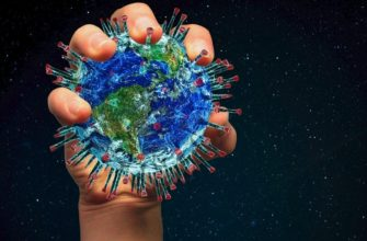 Планета Земля - коронавирус. Как поделиться статусами про коронавирус в картинках.