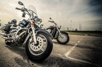 Два мотоцикла на дороге. Где найти статусы про мотоциклы
