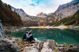 Путешественники в горах. Какие есть статусы про путешествия