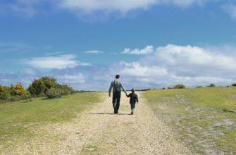 На поле. Самые лучшие статусы про отца и сына.