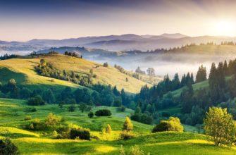 Красивый пейзаж. Где найти статусы стихами со смыслом.