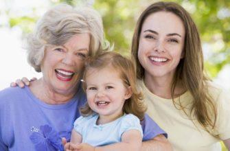 Три женщины. Какие есть статусы про внучку.