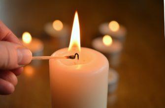 Огонь свечи. Какие есть статусы про огонь.